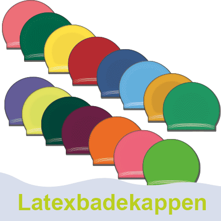 Latex Badekappen